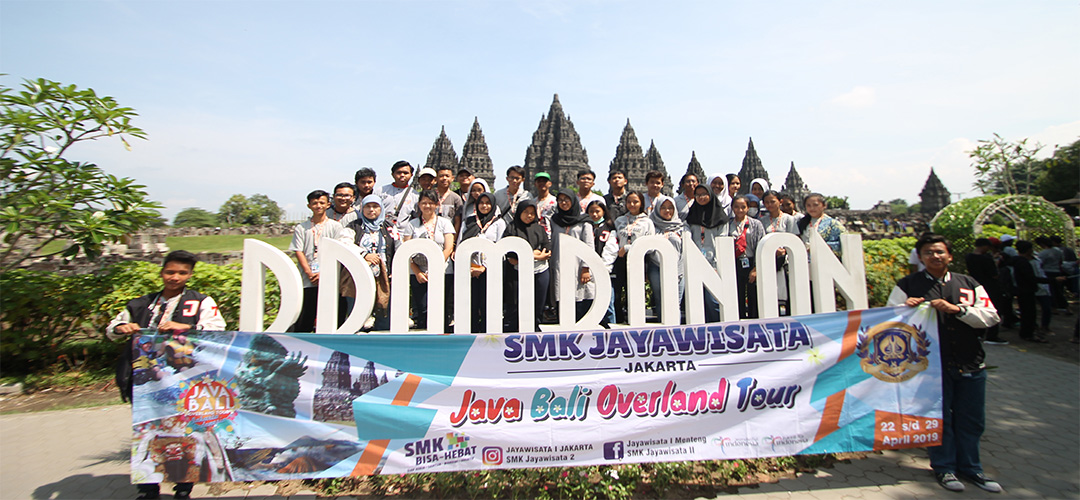 JBOT SMK Jayawisata 2 at Prambanan