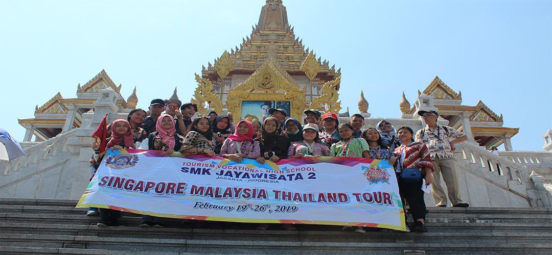 SMT Tour SMK Jayawisata 2 - Thailand